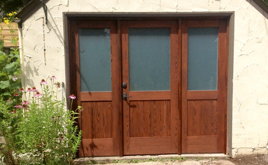 Thermally Modified Wood Door